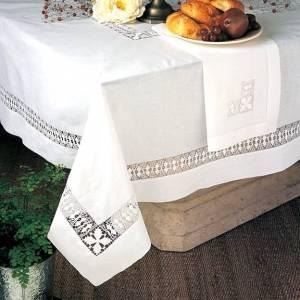 Hand Made Hemstitch Table Cloth