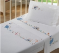 Hand embroidery baby bedding set