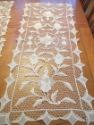 hand lace table runner